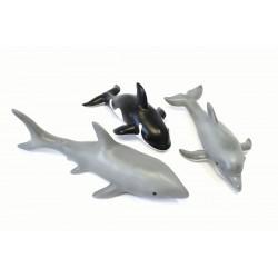 Set de 3 animales marinos de goma eco-friendly