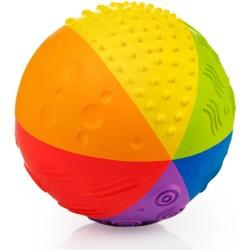 Pelota sensorial arcoiris de caucho 10 cm (Sensory ball 10 cm)