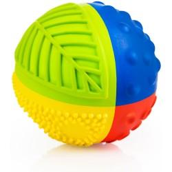 Pelota sensorial arcoiris de caucho 8 cm (Sensory ball 8 cm)