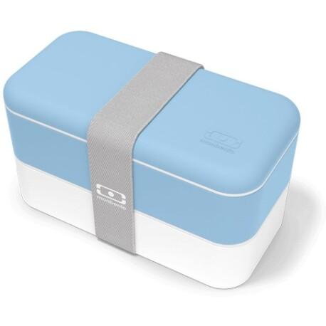 Fiambrera Monbento original color azul cristal