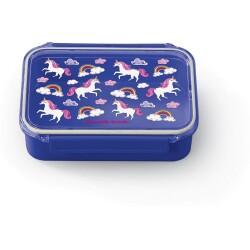 Fiambrera de doble compartimento Bento Box de los unicornios