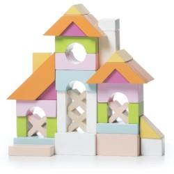 Set de bloques de construcción de madera - Casa (House LB-1)