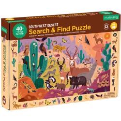 """Puzle """"busca y encuentra"""" de 64 piezas del desierto"""