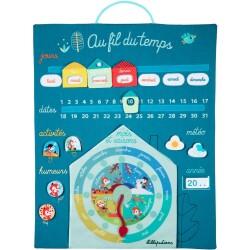 """Calendario """"El paso del tiempo"""" (Francés)"""