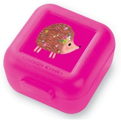 Set de 2 mini fiambreras para snacks (tupper) puercoespín (Snack Keeper Hedgehog Set de 2)
