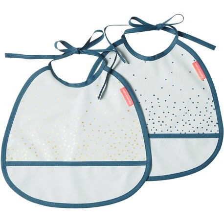Pack de 2 Baberos impermeables Dots