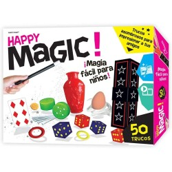 Juego de magia happy magic 50 trucos