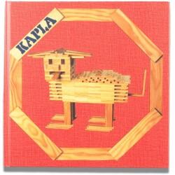 Libro de arte para hacer animales y estructuras para principiantes con KAPLA