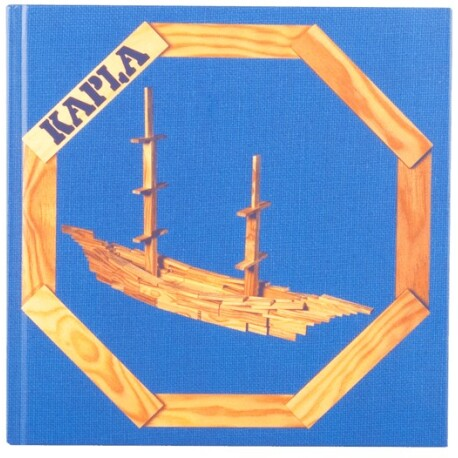 Libro de arte para hacer estructuras avanzadas con KAPLA