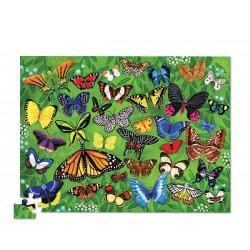 Puzle en caja 100 piezas - Mariposas