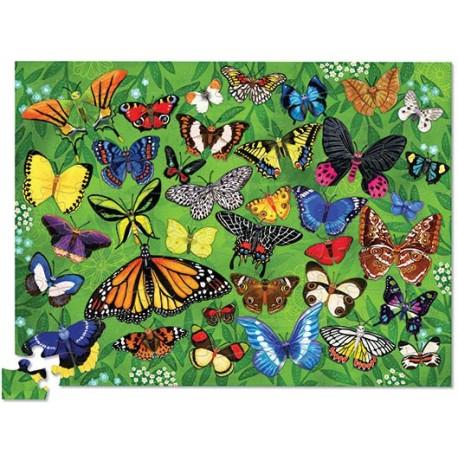 Puzle en caja 100 piezas - Mariposas (Puzzle Canister 100 p 36 Butterflies)