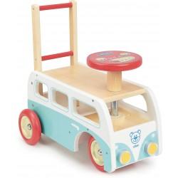 Autobús retro 2 en 1 de madera (Combi Retro 2 en 1)