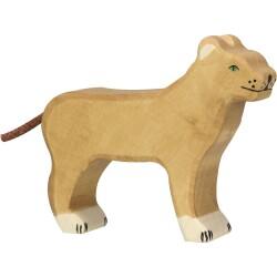 León de madera