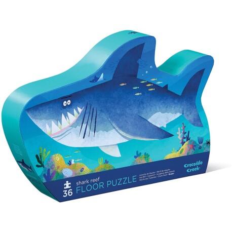 Puzle de 36 piezas del tiburón