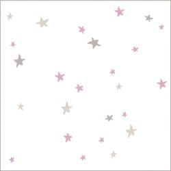 "Muselina de algodón ""lovely swaddles"" estampado starburst"