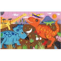 Puzle lenticular de 75 piezas de los dinosaurios