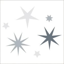 """Muselina de algodón """"twinkle star swaddles"""" estampado starcluster"""
