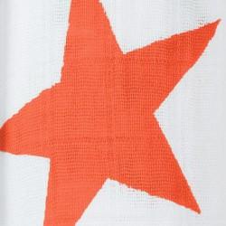 "Muselina de algodón ""super star swaddles"" estampado naranja"