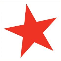 """Muselina de algodón """"super star swaddles"""" estampado rojo"""