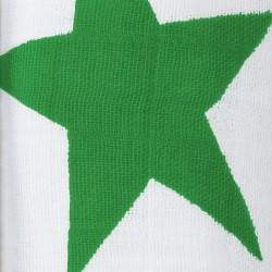 """Muselina de algodón """"super star swaddles"""" estampado verde"""
