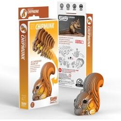 Puzle 3D Chipmunk Eugy de Dodoland