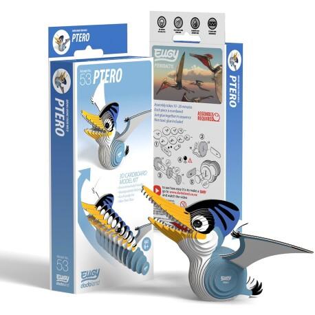 Puzle 3D Ptero Eugy de Dodoland