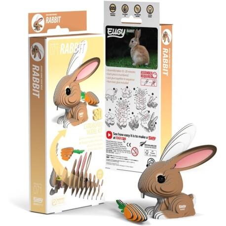 Puzle 3D Conejo Eugy de Dodoland