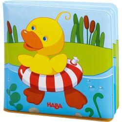 Libro para el baño del patito nadador