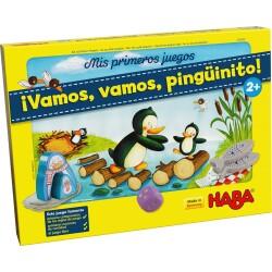 Mis primeros juegos: ¡Vamos, vamos, pingüinito!