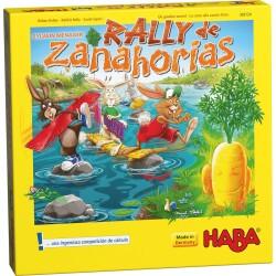 Juego de mesa: Rally de zanahorias