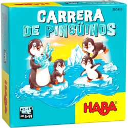 Juego de mesa: Carrera de pingüinos