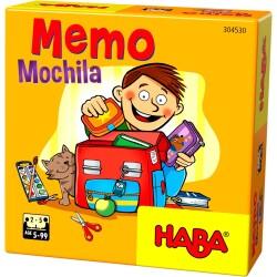 Juego de mesa: Memo Mochila