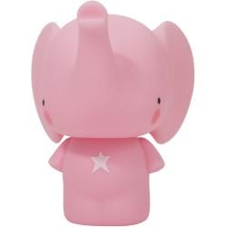 Hucha: elefante rosa