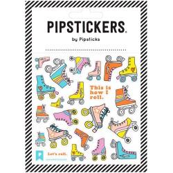 Hoja de pegatinas 10 x 10 Pipsticks de Patines