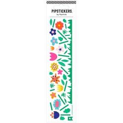 Hoja de pegatinas 5 x 20 PipStickers del Jardín de flores