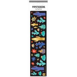 Hoja de pegatinas 5 x 20 PipStickers de Cactus Brillantes