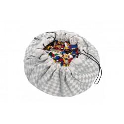 Sacos de juguetes Play & Go Diamond gris
