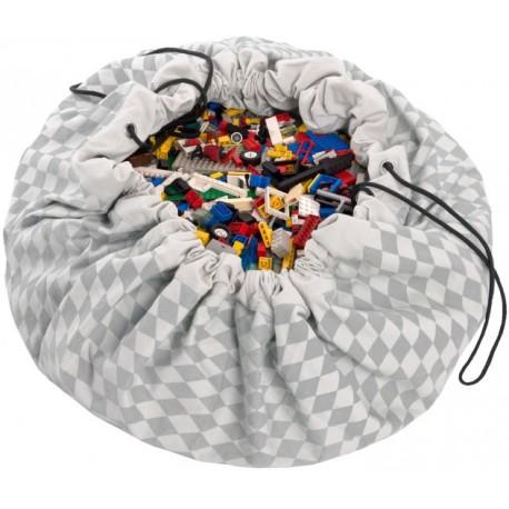 Sacos de juguetes Play & Go Diamond gris - PG-49959