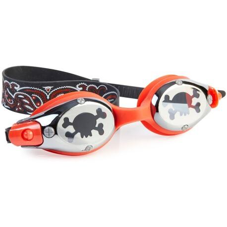 Gafas de natación BLACK BEARD captain red