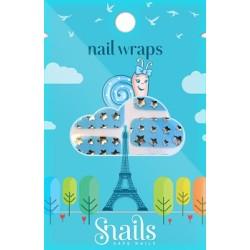 Mini pegatinas para decorar tus uñas (blue stars)