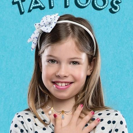25 Tatuajes metálicos de joyas