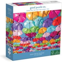 Puzle de 1000 piezas Rainbow Umbrellas