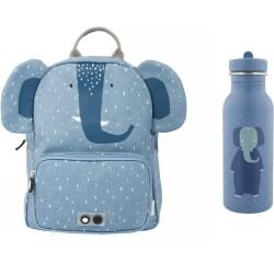 Pack mochila + botella 500 ml del elefante