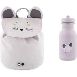 Pack mini mochila + botella 350 ml del ratón