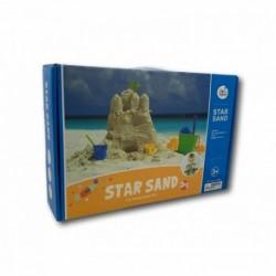 Kit de arena, moldes y bandeja para jugar
