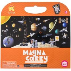 Escenario magnético - Explorador espacial