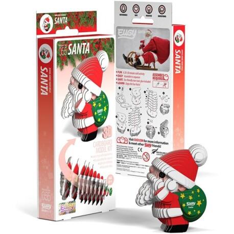 Puzle 3D Papá Noel Eugy de Dodoland