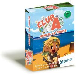 Juego de cartas: Renata la pirata - Colección Club A