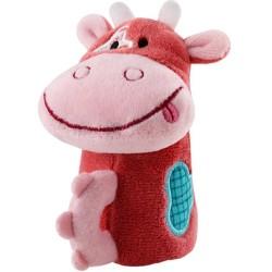Mini sonajero de la vaca Vicky con cencerro interior