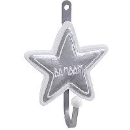 Colgador con forma de estrella
